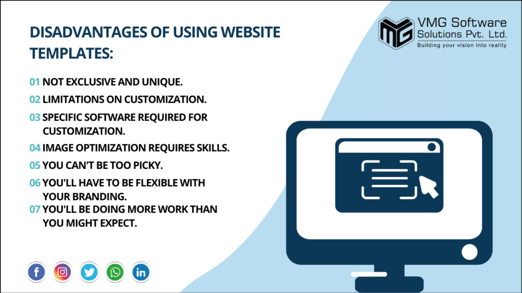 Disadvantages Of Using Website  Templates